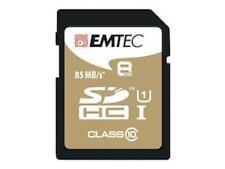 EMTEC SDHC 8 gb class 10 UHS-I 85 MB/s premium tarjeta de memoria de alta velocidad Full HD