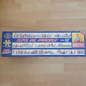 Jumbo Jan Van Haasteren 3.75M The Longest Puzzle 1000 Piece Jigsaw Used HTF