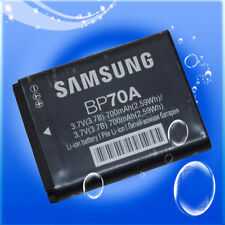 Genuine Original Samsung BP70A Battery for SL50 ES65 ES70 PL80 PL100 WP10 AQ100