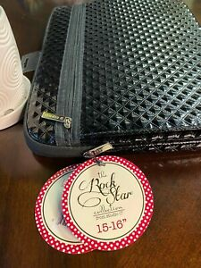 """The Rock Star collection, laptop sleeve 15-16"""" Fabu-luscious"""