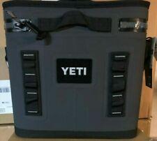 YETI Hopper FLIP 12 can CHARCOAL Soft Side Cooler - BRAND NEW