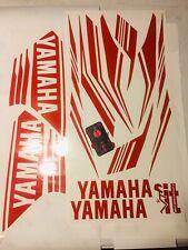 Yamaha R3 Custom Decal Set (2015-2018) - Gloss Red