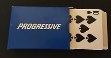 Progressive Insurance Playing Cards Deck Flo Poker Gambling Black Jack Aces Game