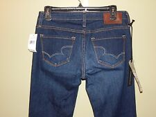 """NWT BIG STAR """"Remy"""" Bootcut Jeans sz 28 L.$118 Retail New Dark Wash Whiskered"""