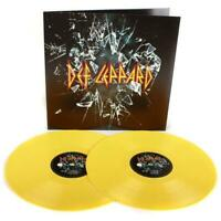 Def Leppard- Double Yellow Color Vinyl SEALED import.