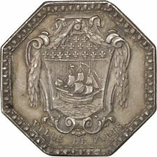 [#69081] France, Royal, Business & industry, Token, AU(55-58), Silver, 33