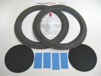 """Bose 501 10"""" Series III Woofer Refoam Kit - Speaker Repair w/ Shims & Dust Caps!"""