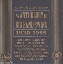 Decca Anthology of Big Band Swing 2 CD Set 1930-1955 GRP Jazz Masters Basie Webb