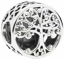 Genuine Pandora Sterling Silver Family Roots Charm - 797590