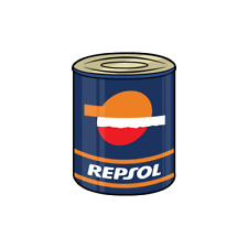 Repsol Oil Garage Decal Sticker