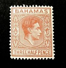 Bahamas King George VI 1948 1 1/2d MINT STAMP VLH