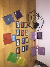 Nintendo Gameboy Advance SP Pink With 13 Games, Games Cases, Case And Charger