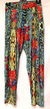 plus sz XS / 14 TS TAKING SHAPE Shadow Pant soft stretch sexy wild print NWT!