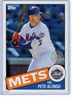 Pete Alonso 2020 Topps 1985 35th Anniversary 5x7 #85-68 /49 Mets