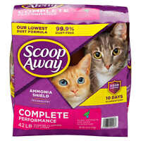 Scoop Away Complete Performance, Scented Cat Litter, 42 Pounds for Cats