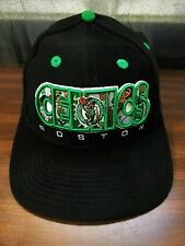 Vintage Boston Celtics Drew Pearson Adjustable Snapback Hat Cap NBA Basketball