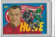 1992 UPPER DECK GORDIE HOWE HOCKEY HEROES CHECKLIST #27/27