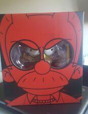 """Kidrobot Devil Flanders Medium Figure  Simpsons 7"""" glow in the dark GID LE 500"""