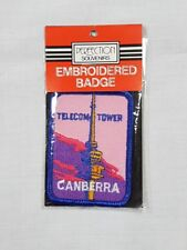 Telecom Tower Canberra, Collectable Souvenir Sew on Patch / Badge (NOS)