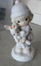 "1991 Precious Moments Good Friends are For Always Figurine 5 1/4"" Tall 524123"