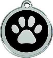 Medaille Petit Chien ou Chat 2cm Red Dingo/empreinte Patte plusieurs Couleurs