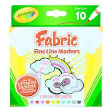 Crayola 10  Fine Line Markers Multicoloured