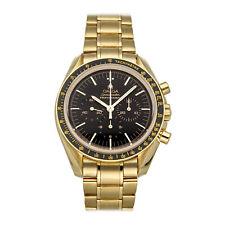 Omega Speedmaster Moonwatch профессиональный хронограф золотые часы 3195.50.00