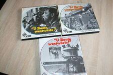 """Super 8 Film""""U-Boote westwärts""""komplett 3-Teile"""