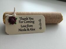 10 ROLO  WEDDING FAVOURS