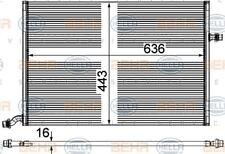 8MK 376 908-111 HELLA basse température Refroidisseur intercooler