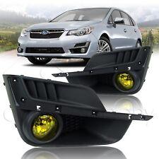 For 2014-2017 Subaru Impreza Fog Lights w/Wiring Kit - Yellow