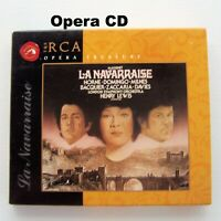 Massenet: La Navarraise 1997 CD Classical Opera Placido Domingo Marilyn Horne