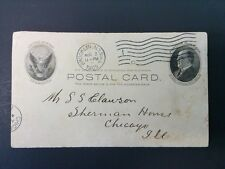 1905 POSTCARD FROM FRANCIS H. FLETCHER BROOKLYN N.Y. TO CHICAGO'S SHERMAN HOUSE
