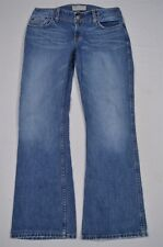 BKE by The Buckle Medium Wash Distressed Denim Harbor Boot Cut Jeans 30 x 31.5