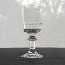 verre à liqueur en cristal