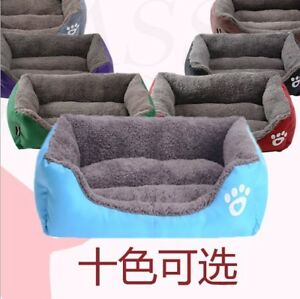 Pet Dog Cat Blanket Soft Warm Kennel Large Pet Bed Puppy Cushion House Dog Mat