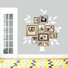 Family Tree Wall Decal Set - Trees, Branches, Family, Photos, Wall Art, Sticker