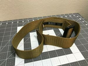 5.11 Tactical 1.75-inch TDU Belt, Color: Coyote, Size:  Small