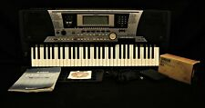 Yamaha PSR-550 61-Key Keyboard with Power Supply, Disk and Instructions