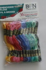 Dfn 36 Skein Varigated Embroidery Floss #3001-35 Janlynn - Project Included Nip