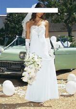 """""""APART"""" Hochzeitskleid Brautkleid romantisch creme Gr. 40 Neu 73% reduziert"""
