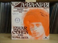 "7"" Single Izhar Cohen & The ""Alpha-Beta"" - A-Ba-Ni-Bi / Illusions (Belgium)"