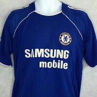 Chelsea Football Jersey Sz L Club Samsung Mobile Football Home Soccer