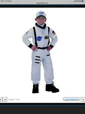 Space Suit Astronaut Dress Up 6-8 Years