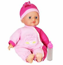 MTS Baby Doll Soft Bodied With 6 Sounds Girls Pretend Play Toy