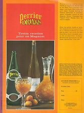 ▬► PUBLICITE ADVERTISING AD PERRIER EAU GAZEUSE Drinks