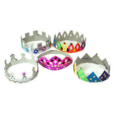 Make Your Own Crowns & Tiaras Art and Craft Activity Pack of 24 AP/771/MYOC