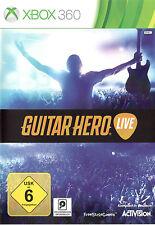 Guitar Hero - Live für XBOX 360 [nur Spiel] | NEUWARE | DEUTSCHE VERSION