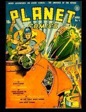 Planet Comics #4: Golden Age Science Fiction Comics