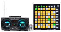 Novation LAUNCHPAD MINI MK2 MKII USB MIDI DJ Controller+Free Bluetooth Speaker !